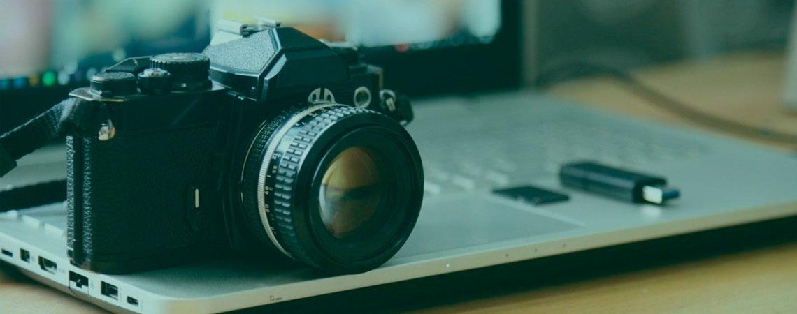 Armazenamento de arquivos, fotos e vídeos