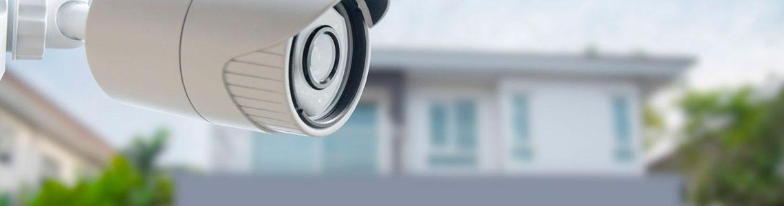 Sistemas de câmeras IP de segurança para condomínios, edifícios e residências